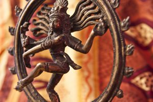 Close-up of Shiva statue image